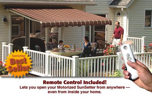 Northeast Awning Amp Window Co Sunsetter Motorized Amp Xl